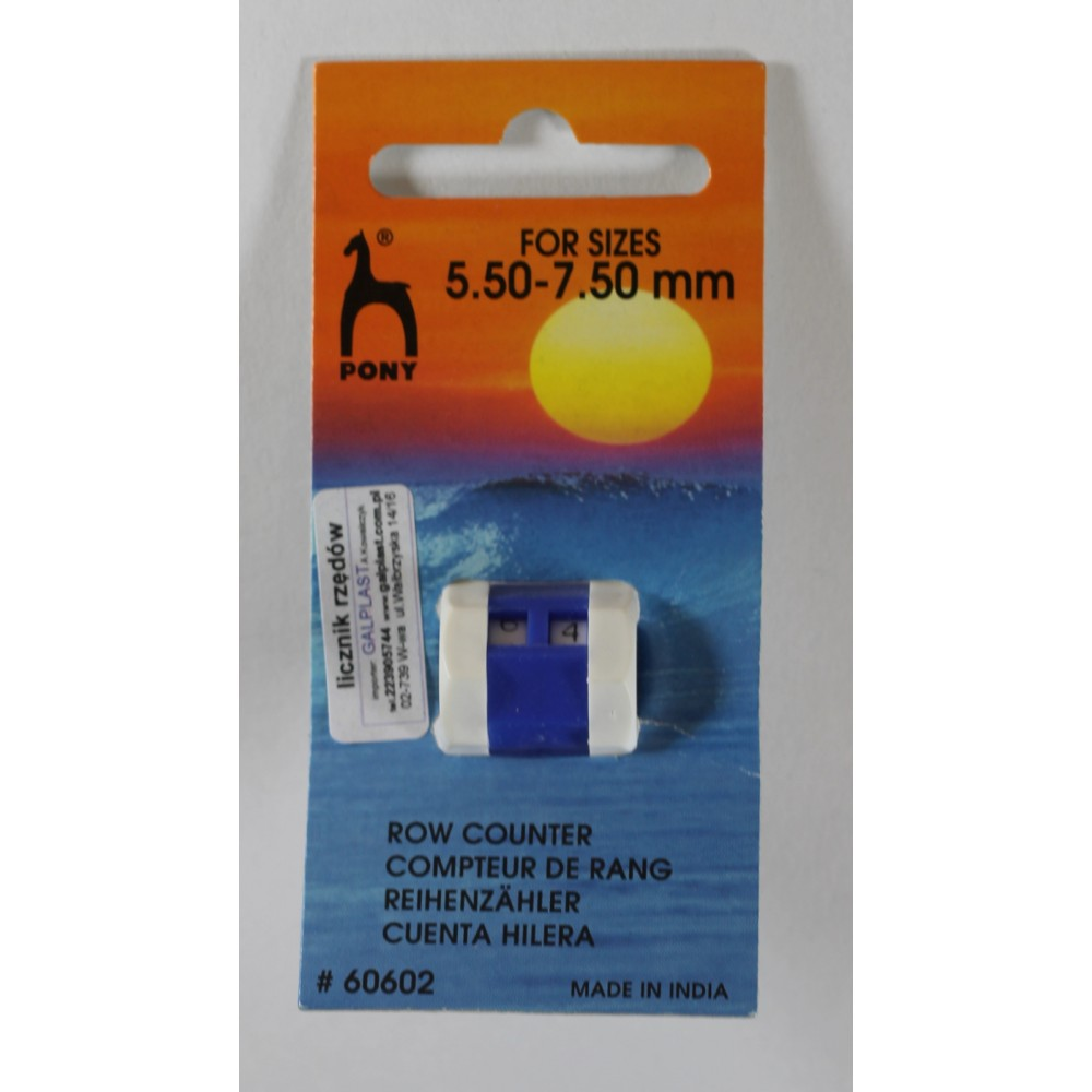 Pony Licznik rzędów 5,5-7,5 mm