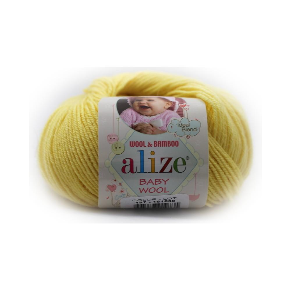 Alize Baby Wool (187) ŻÓŁTY