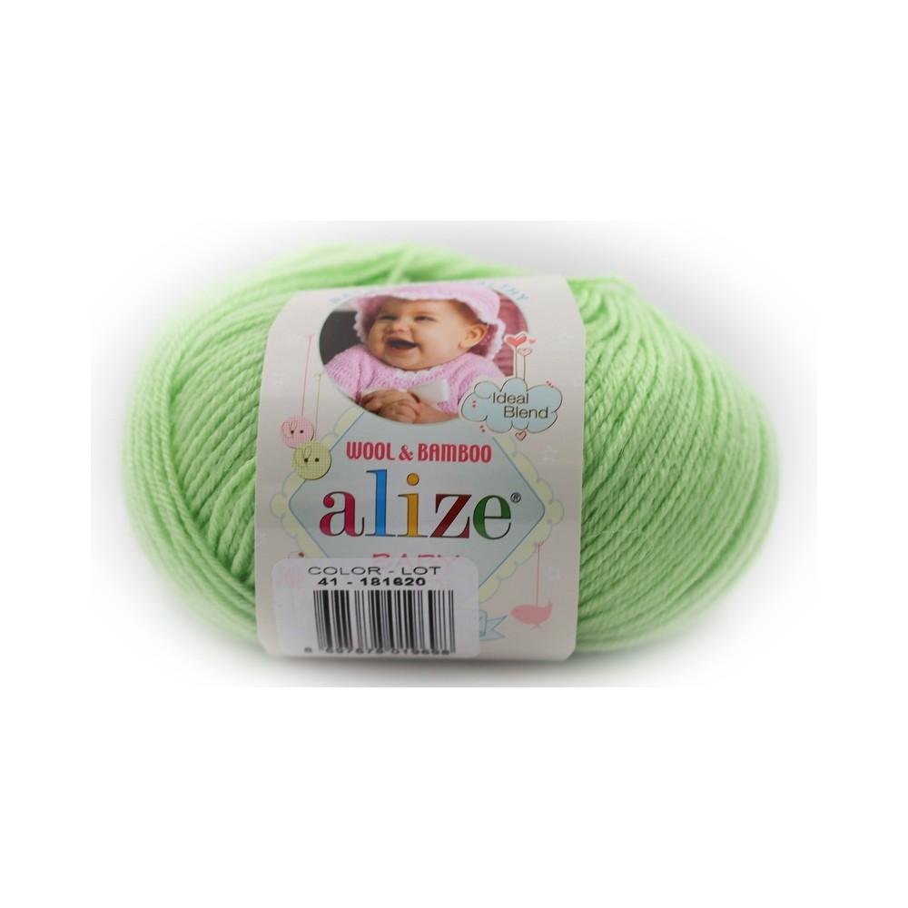 Alize Baby Wool (41) ZIELONY