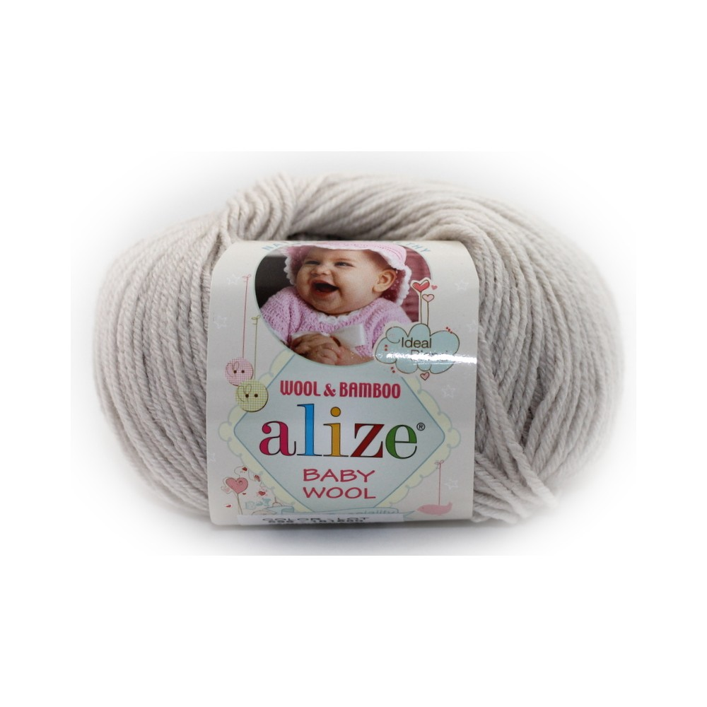 Alize baby wool (599) beżowy