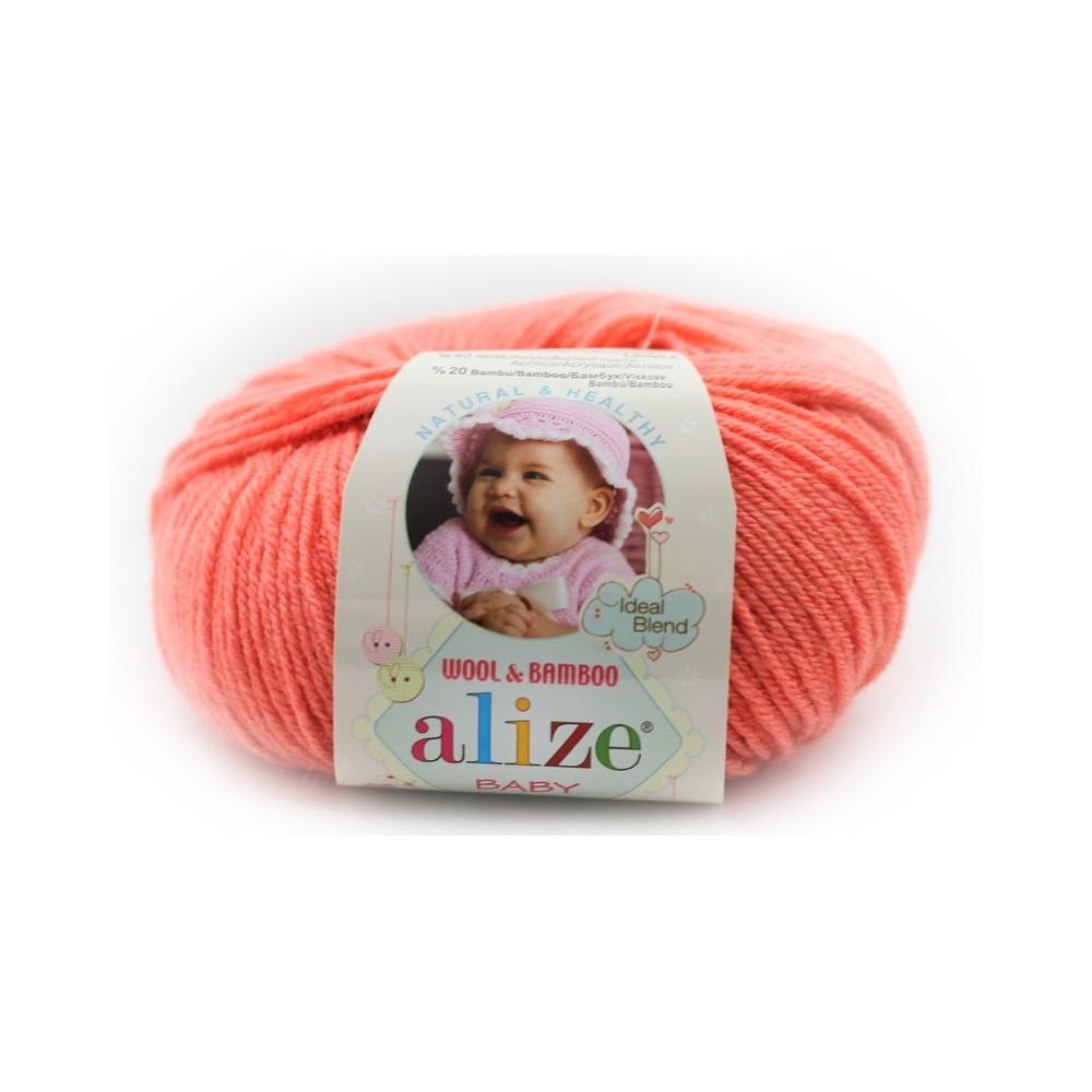 Alize baby wool (619) koralowy