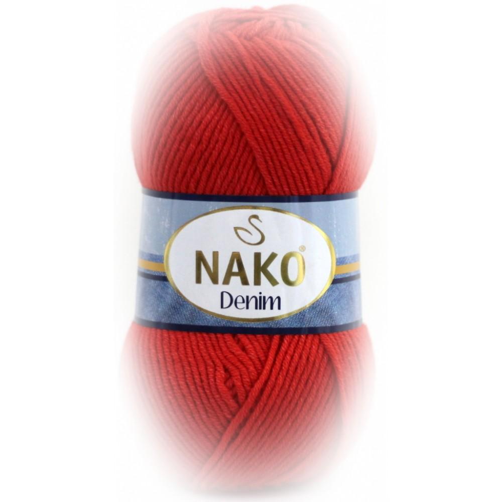 Nako Denim (11583) CZERWONY