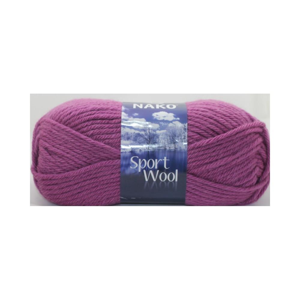 Nako Sport Wool (1048) LILIOWY