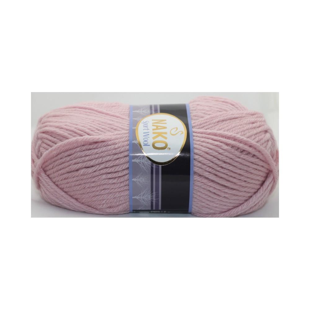 Nako Sport Wool (10639) RÓŻOWY