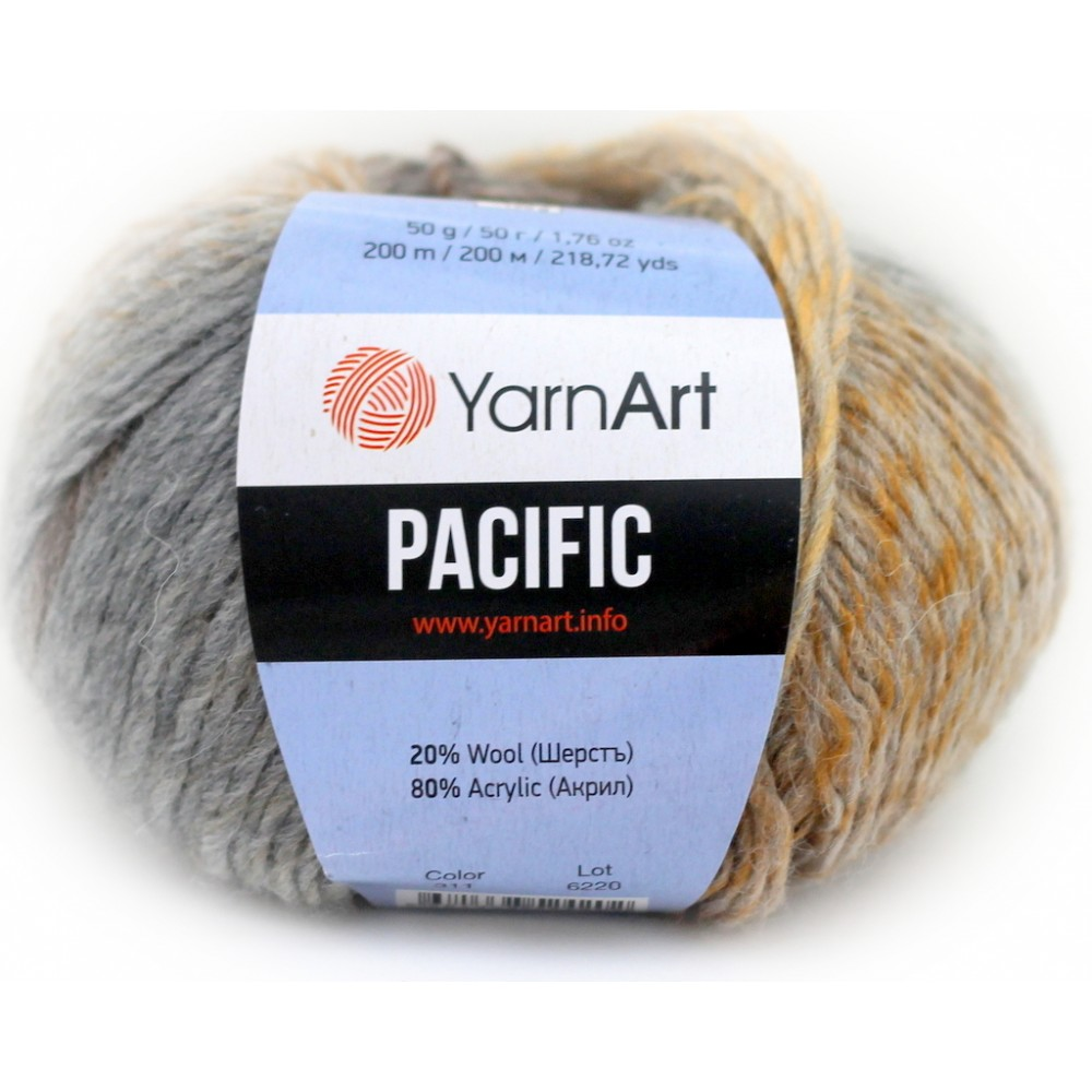 Yarn Art Pacific (311) BEŻOWY