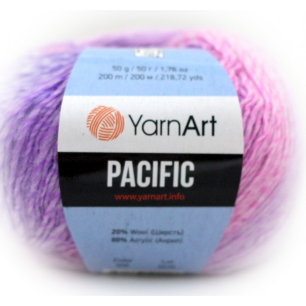 Yarn Art Pacific (306) RÓŻOWY