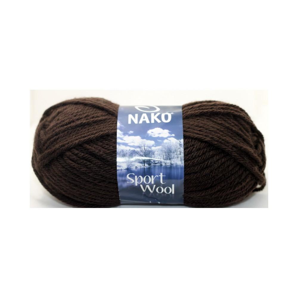 Nako Sport Wool (4987) BRĄZOWY