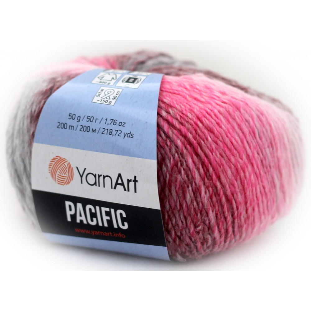 Yarn Art Pacific (310) RÓŻOWY