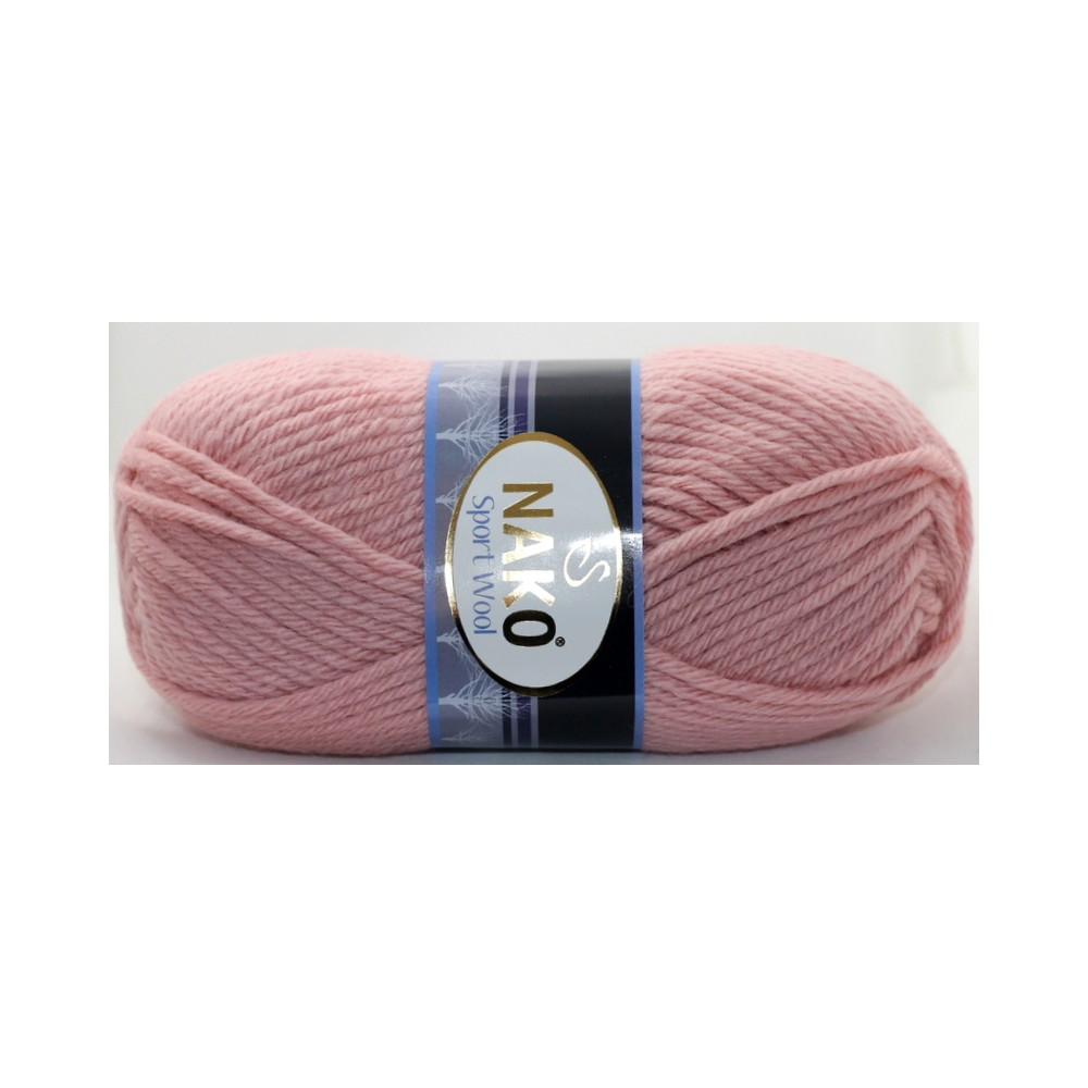 Nako Sport Wool (2406) RÓŻOWY