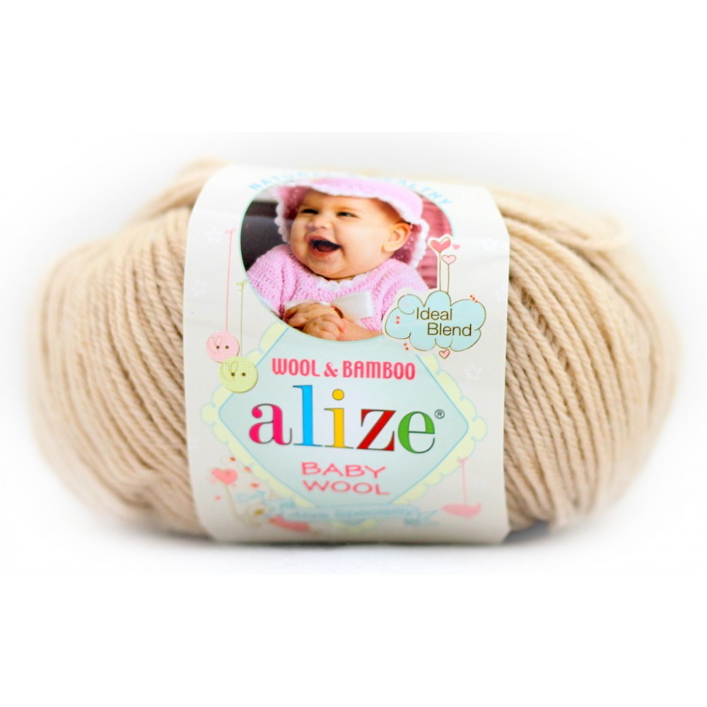 Alize baby wool (310) MIODOWY
