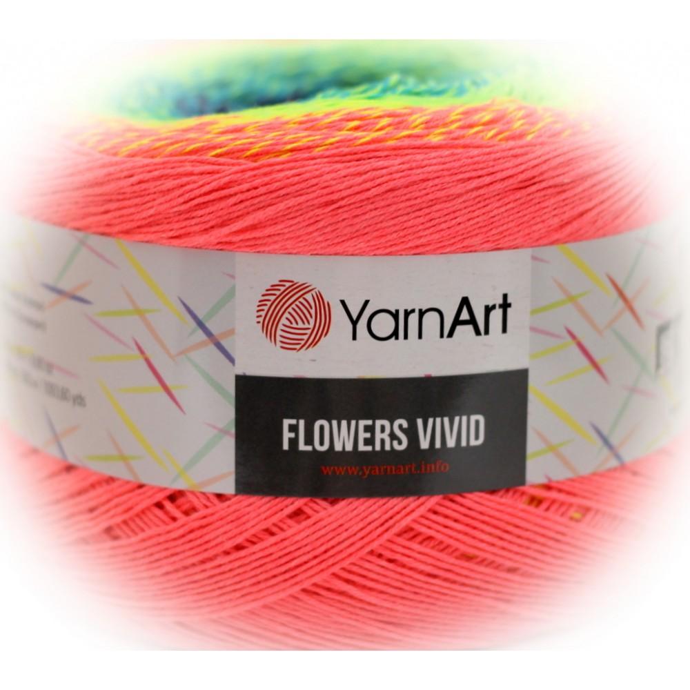 Yarn Art Flowers Vivid...