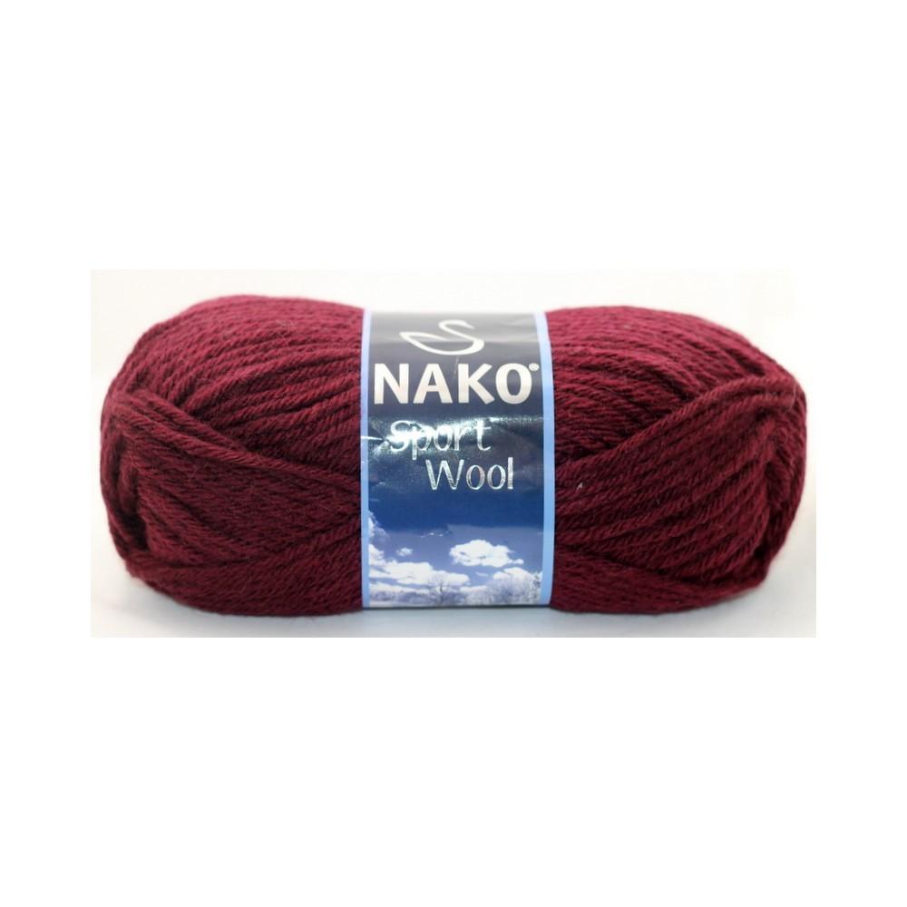 Nako Sport Wool (3718) BORDOWY