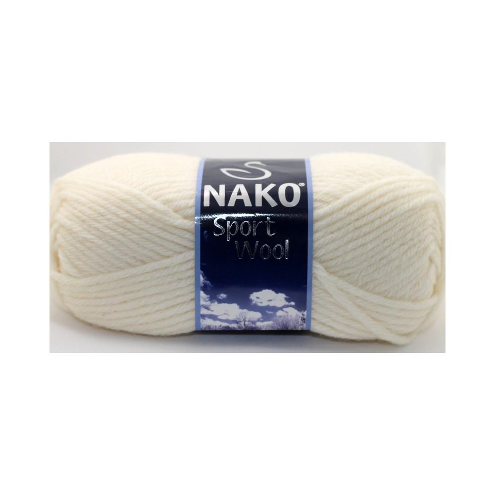 Nako Sport Wool (4109) ECRU