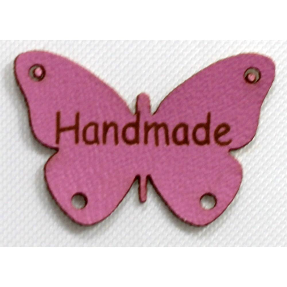 Naszywka Handmade Motyl