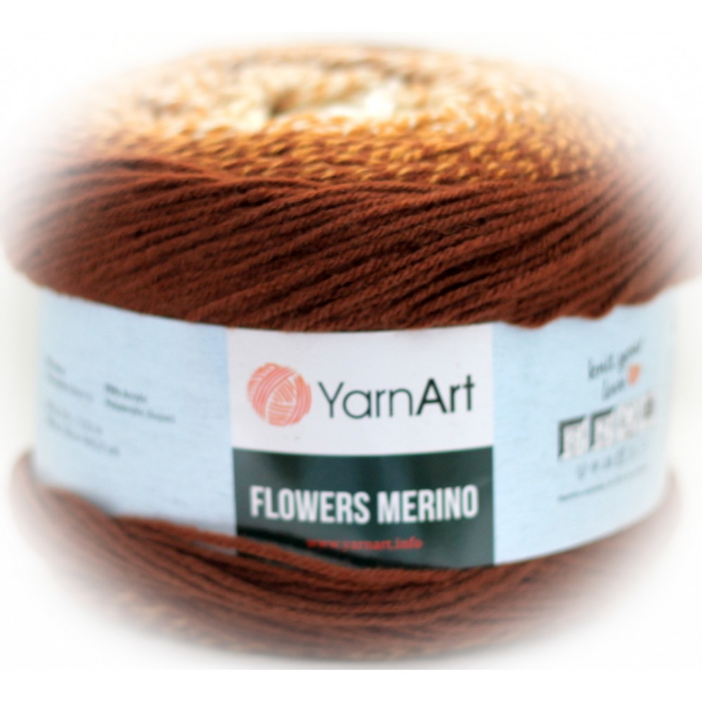 Yarn Art Flowers Merino...