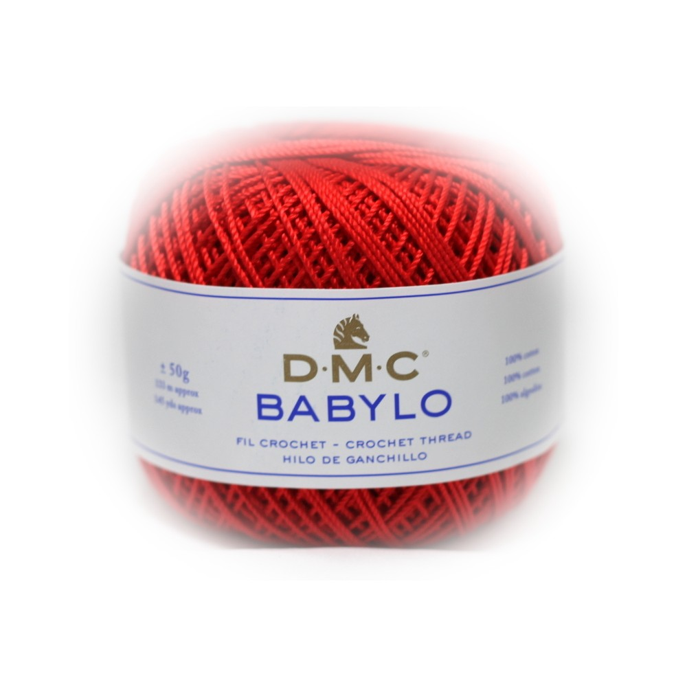 DMC Babylo 5 (666) CZERWONY