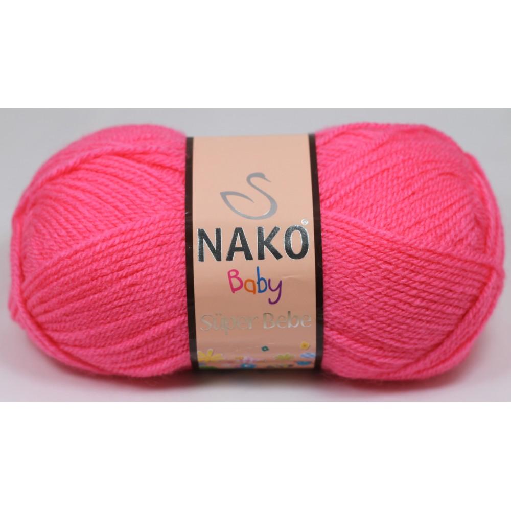 Nako Super Bebe (236) RÓŻOWY
