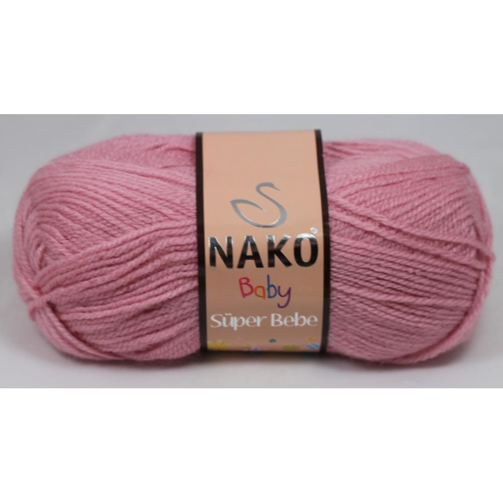 Nako Super Bebe (247) RÓŻOWY