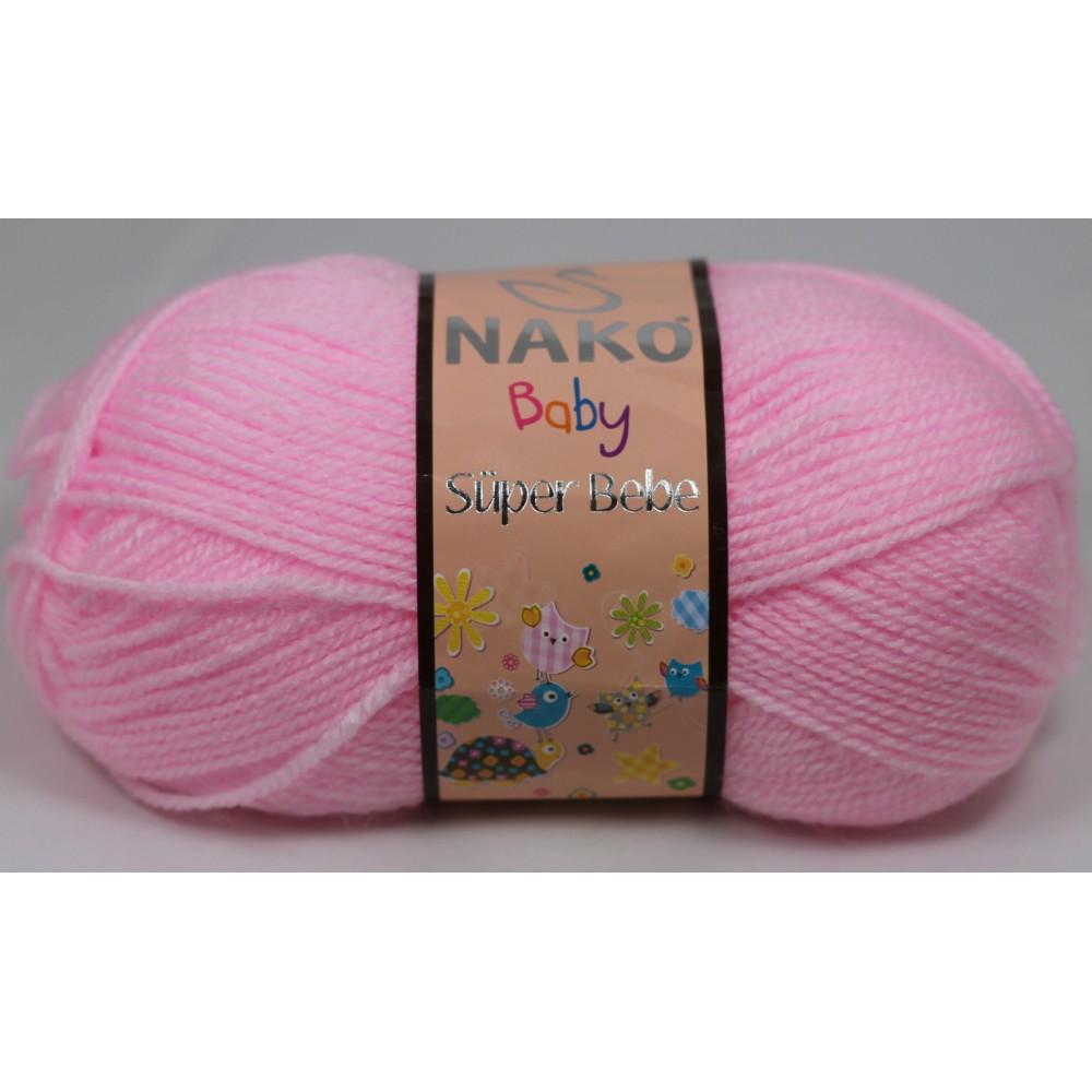 Nako Super Bebe (23069) RÓŻOWY
