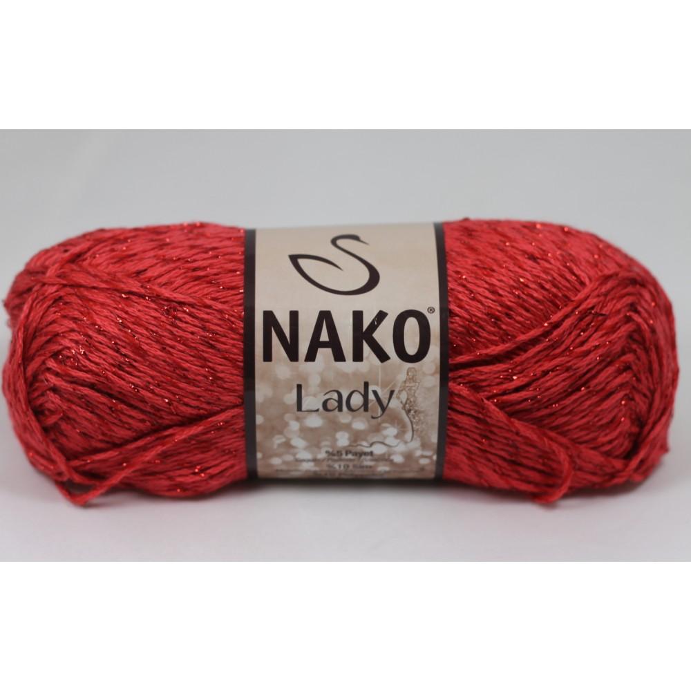 Nako Lady (10799K) CZERWONY