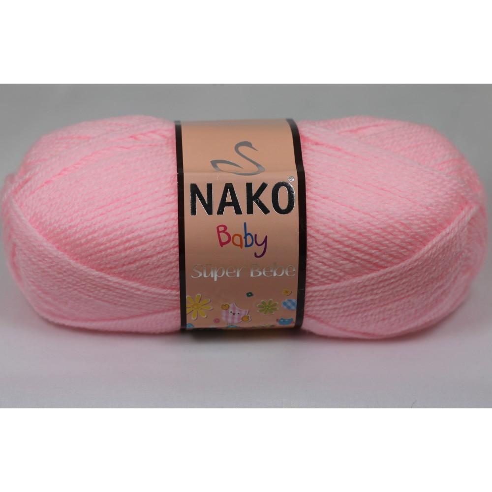Nako Super Bebe (2197) RÓŻOWY