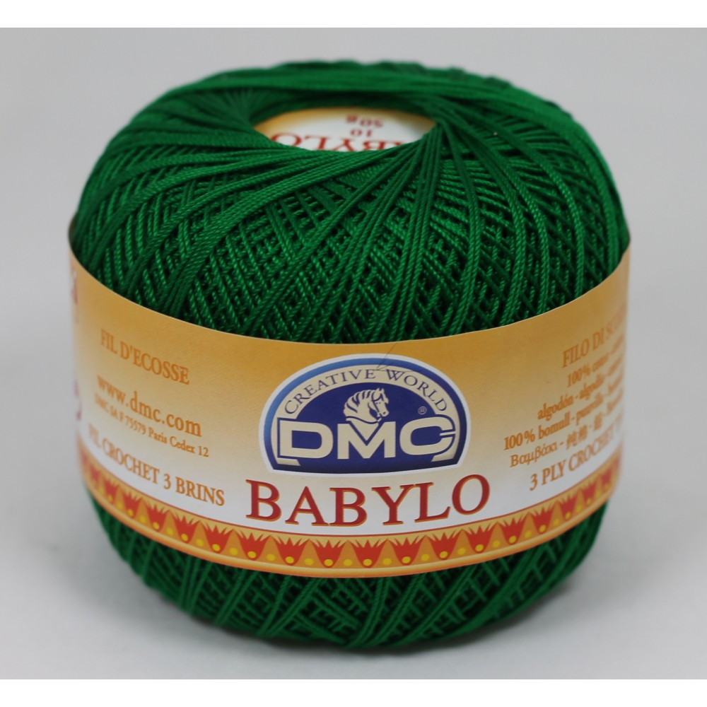 DMC Babylo 20 (699) ZIELONY