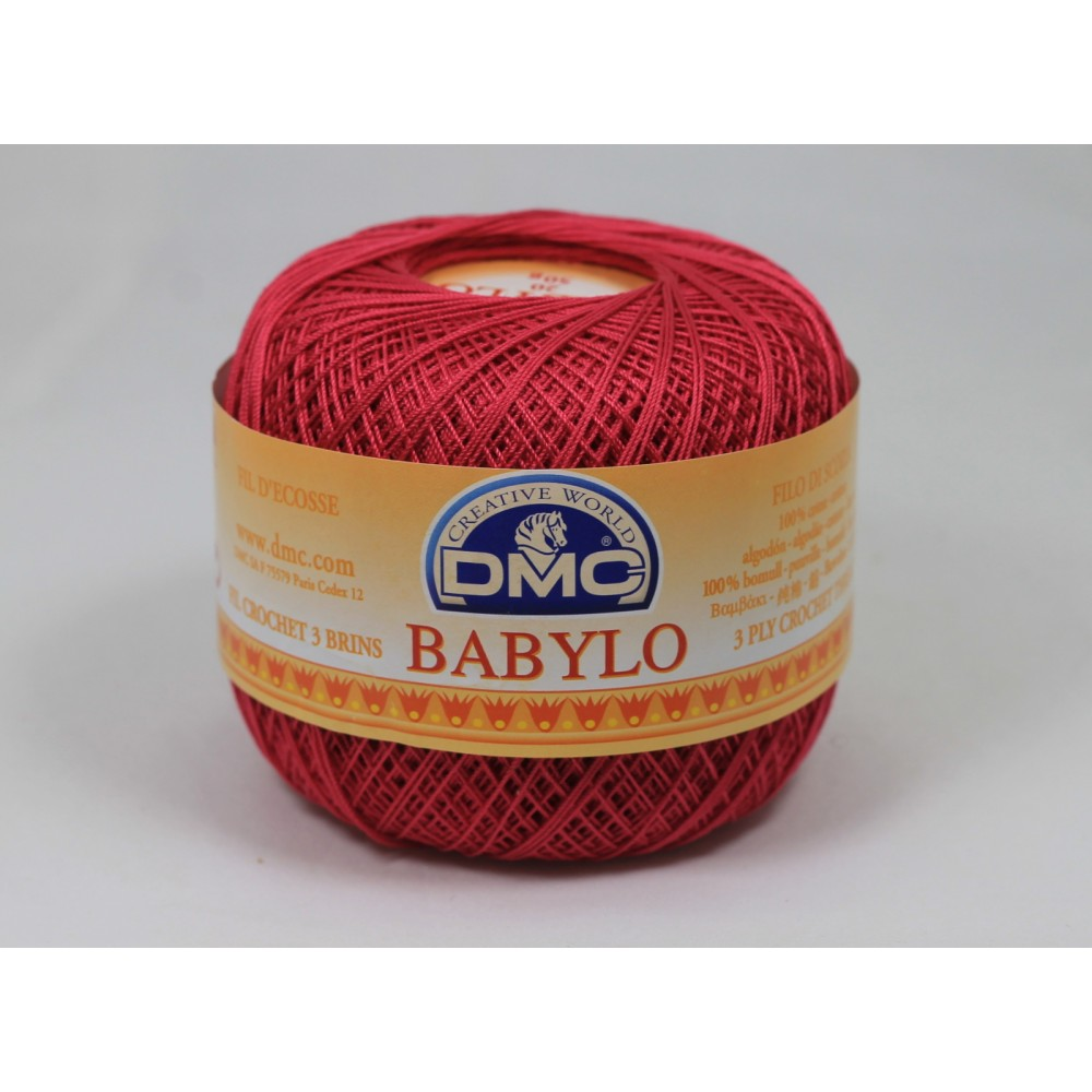 DMC Babylo 20 (600) AMARANTOWY